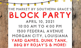 Market By Southern Grace Block Party Cajun Coast