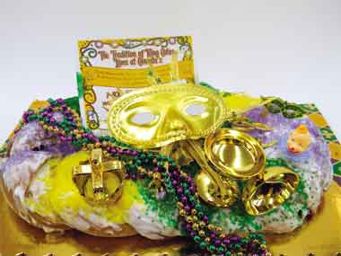 King Cakes on the Cajun Coast