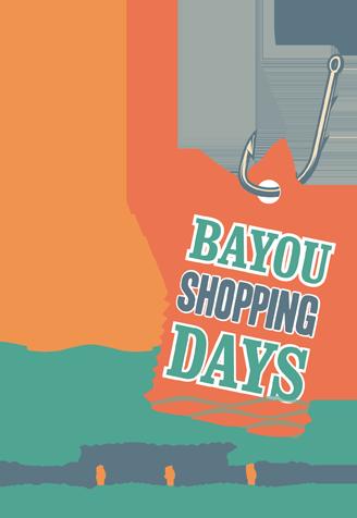 Cajun Coast Bayou Shopping Days in May