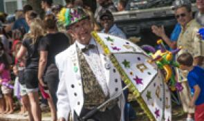 Mardi Gras Dancer Cajun Coast