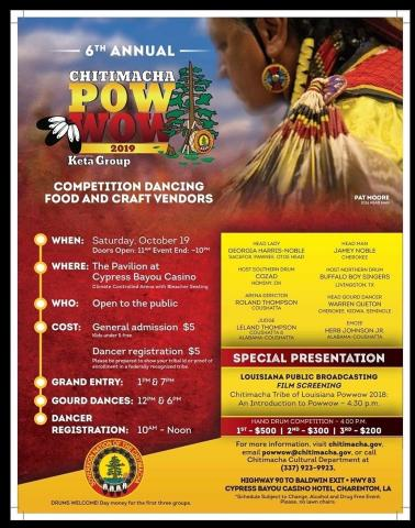 Pow Wow Flyer 2019